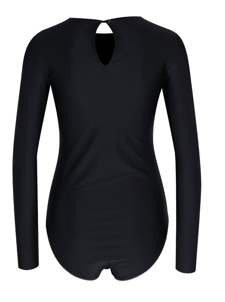 Body negru cu maneci lungi -  Alexandra Ghiorghie Rina
