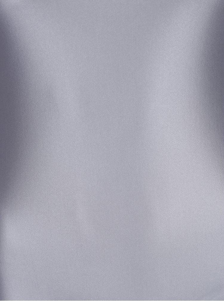 Body argintiu cu maneci lungi -  Alexandra Ghiorghie Rina