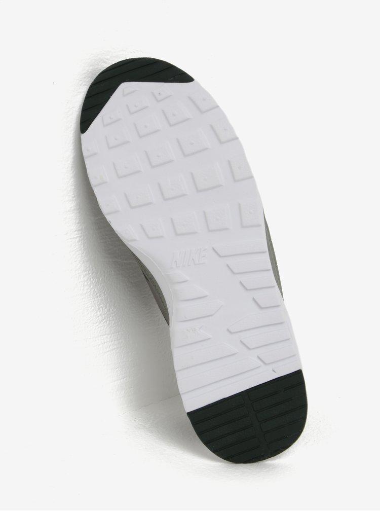 Tmavě zelené dámské tenisky Nike Air Max Thea