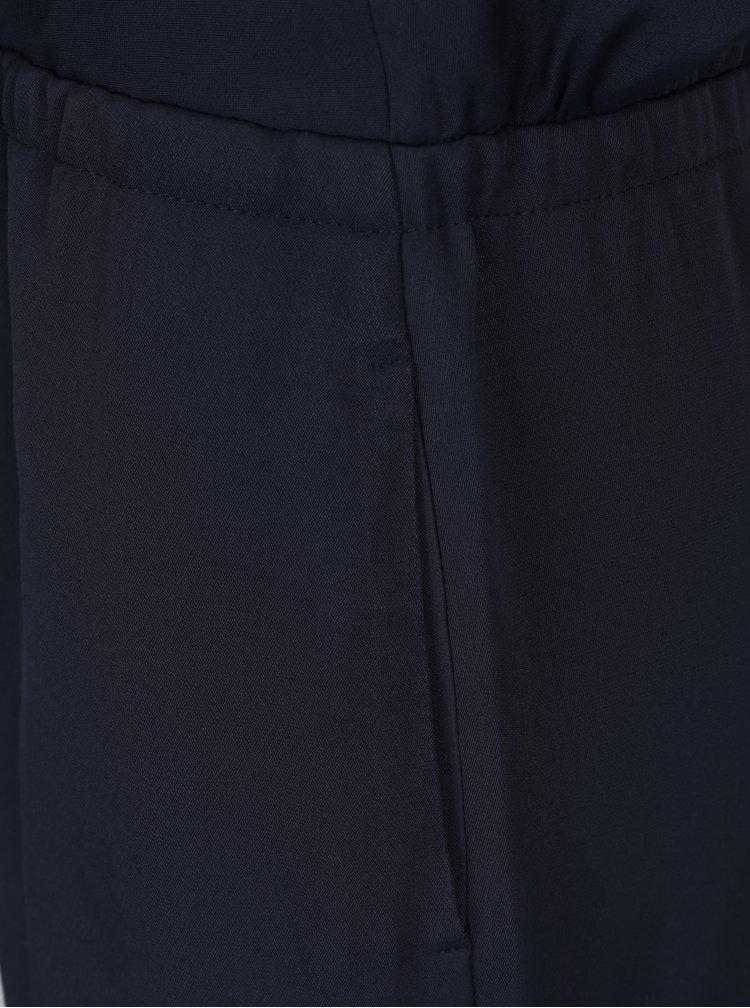 Salopeta bleumarin cu decolteu si maneci din dantela -  Alexandra Ghiorghie Plam