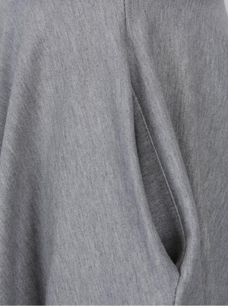 Šedá kolová sukně s kapsami ZOOT