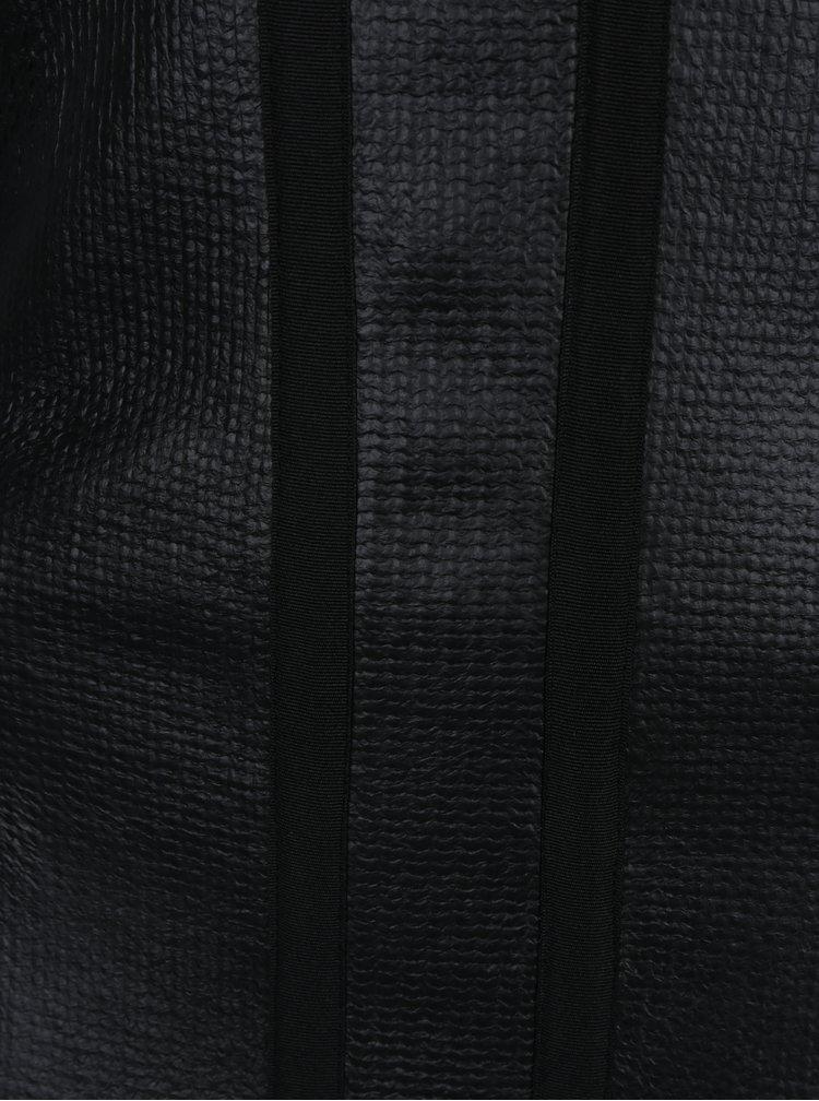 Rochie neagra cu  maneci 3/4 - Alexandra Ghiorghie Rero