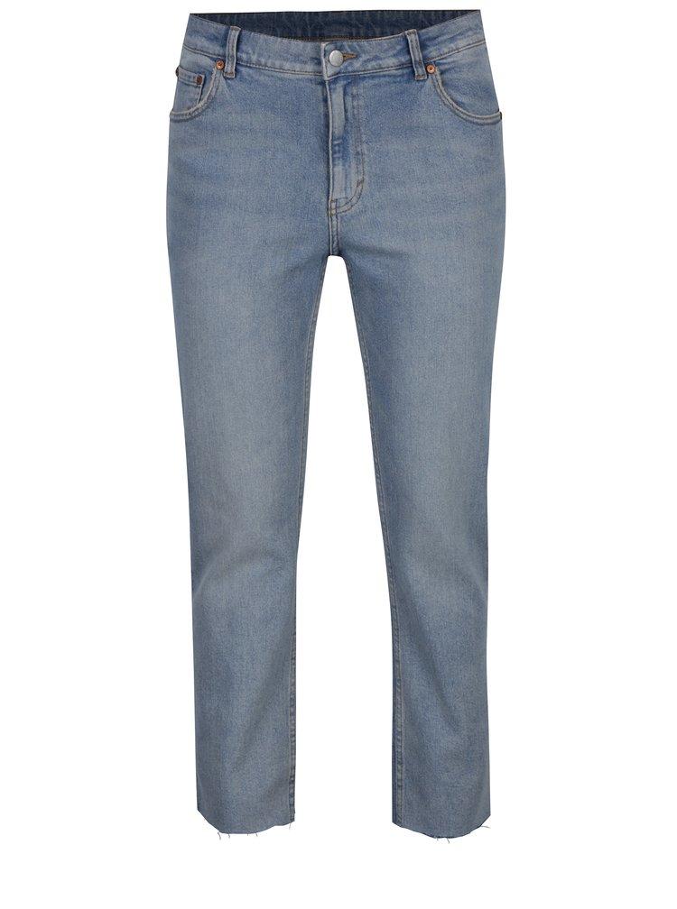 Světle modré zkrácené slim džíny Cheap Monday