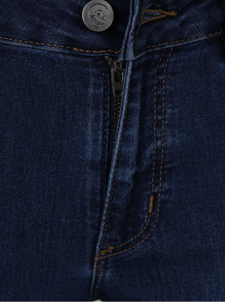 Tmavě modré super skinny džíny Cheap Monday
