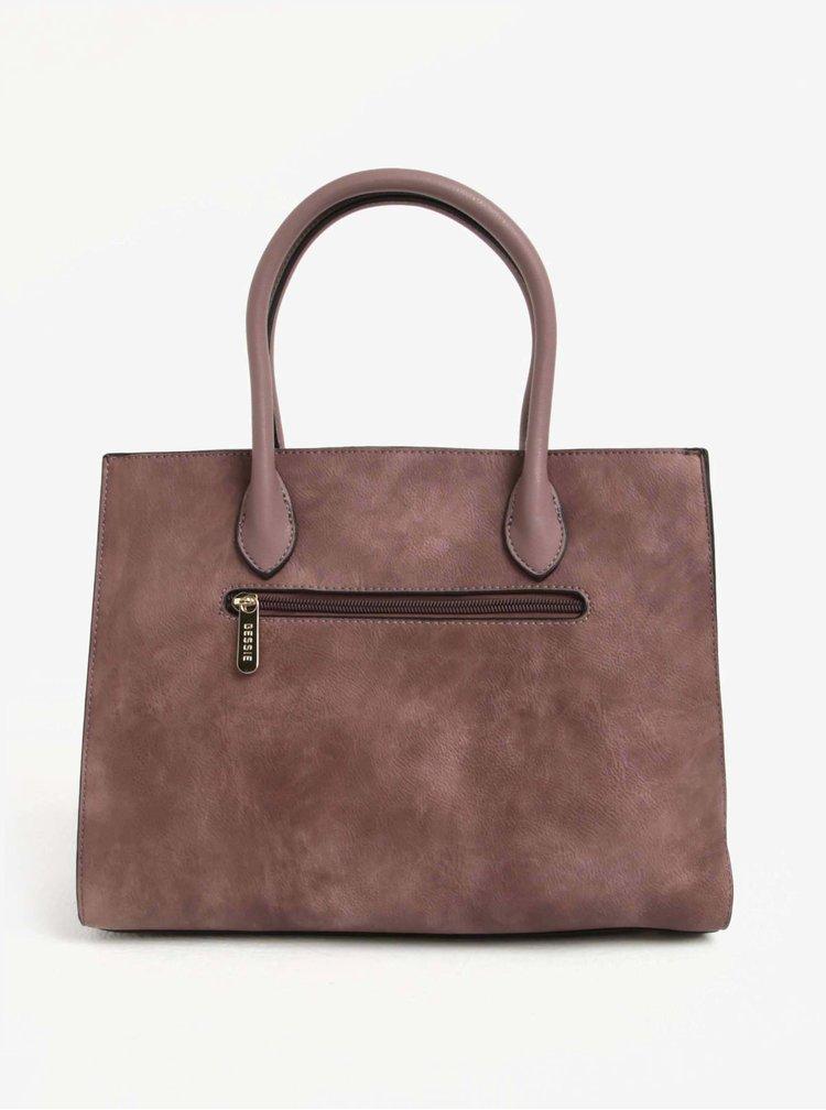 Starorůžová kabelka Bessie London