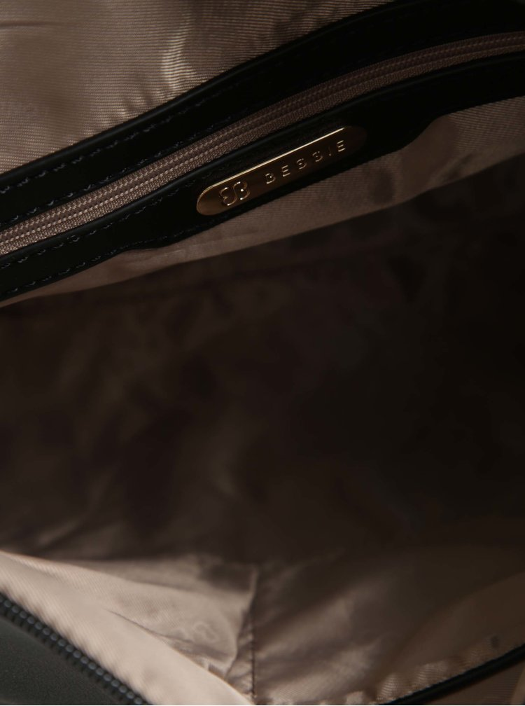 Černá kabelka s crossbody kabelkou 2v1 Bessie London