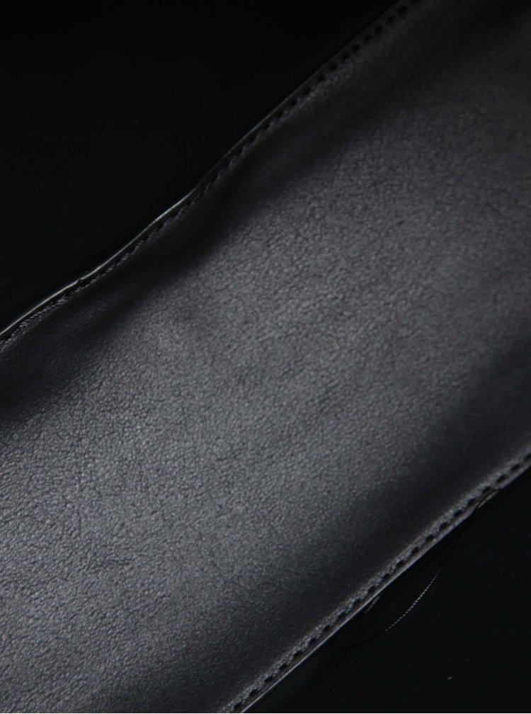 Čierna kabelka s crossbody kabelkou 2v1 Bessie London