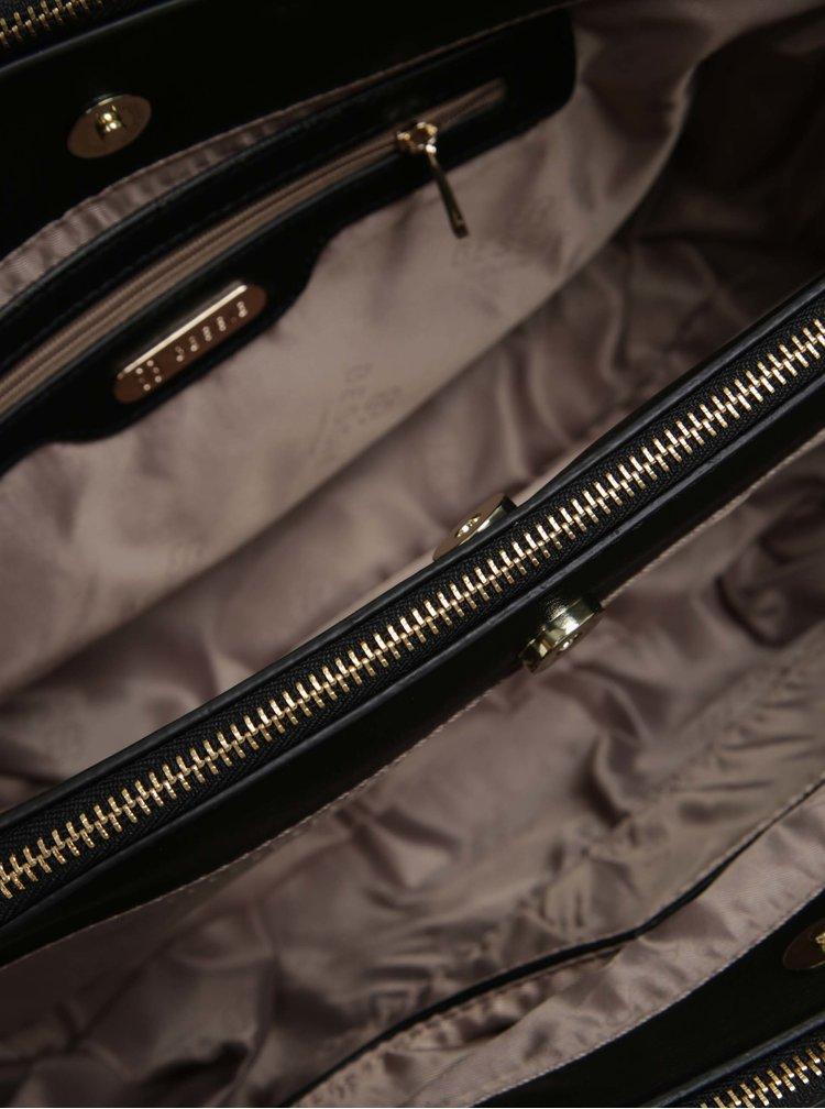 Geanta mare neagra cu accesoriu Bessie London