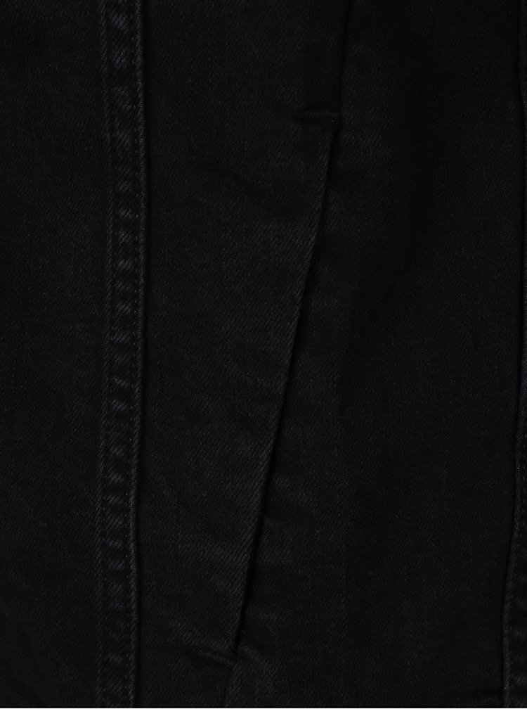 Černá pánská džínová bunda Calvin Klein Jeans Classic