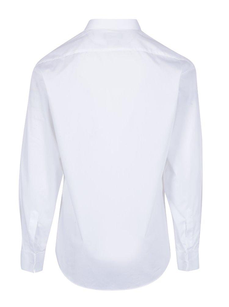 Bílá formální modern fit košile Seven Seas Poplin