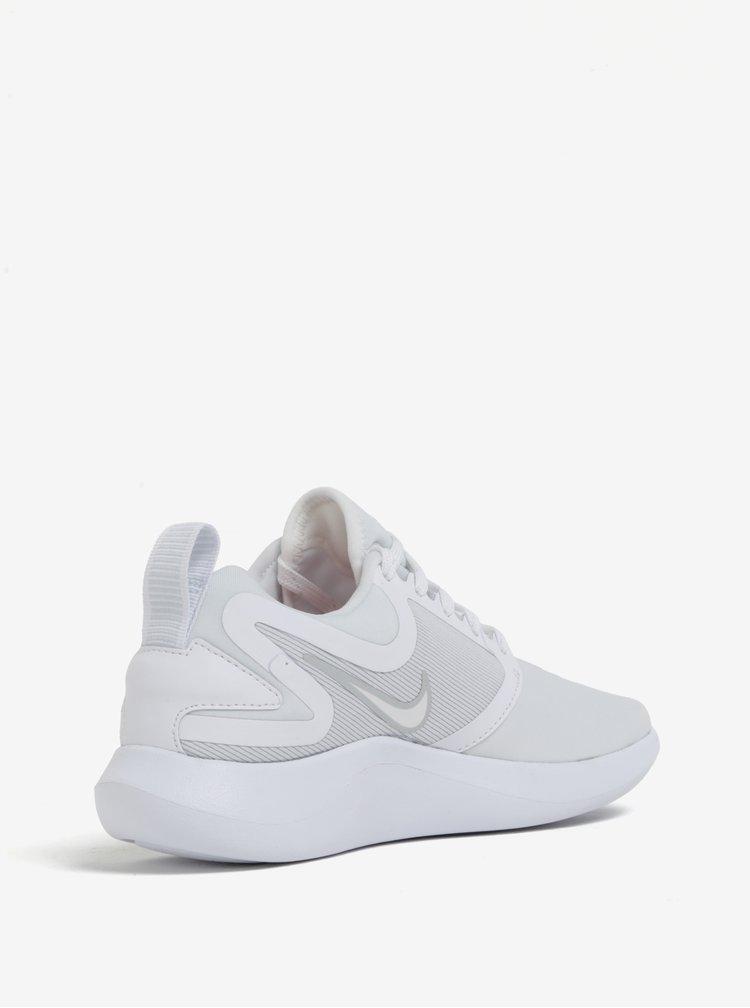 Bílé dámské tenisky na platformě Nike Lunarsolo