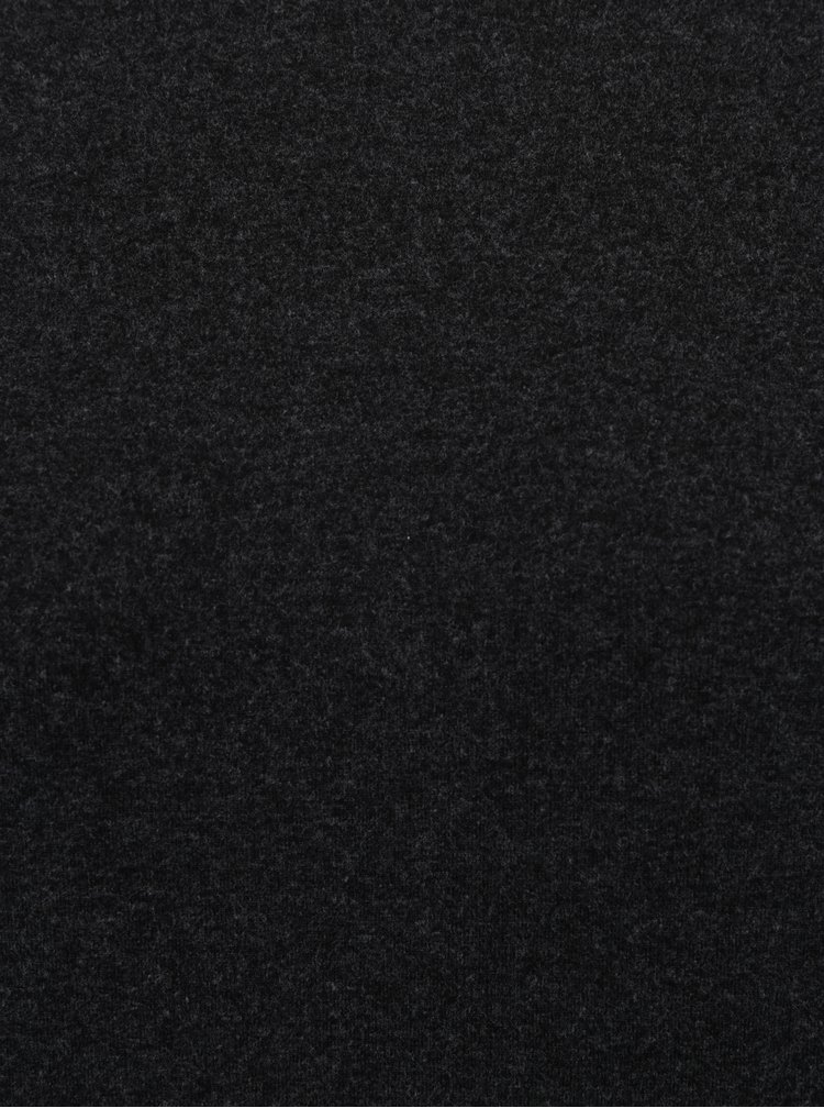 Tmavě šedá lehká mikina s netopýřími rukávy Dorothy Perkins