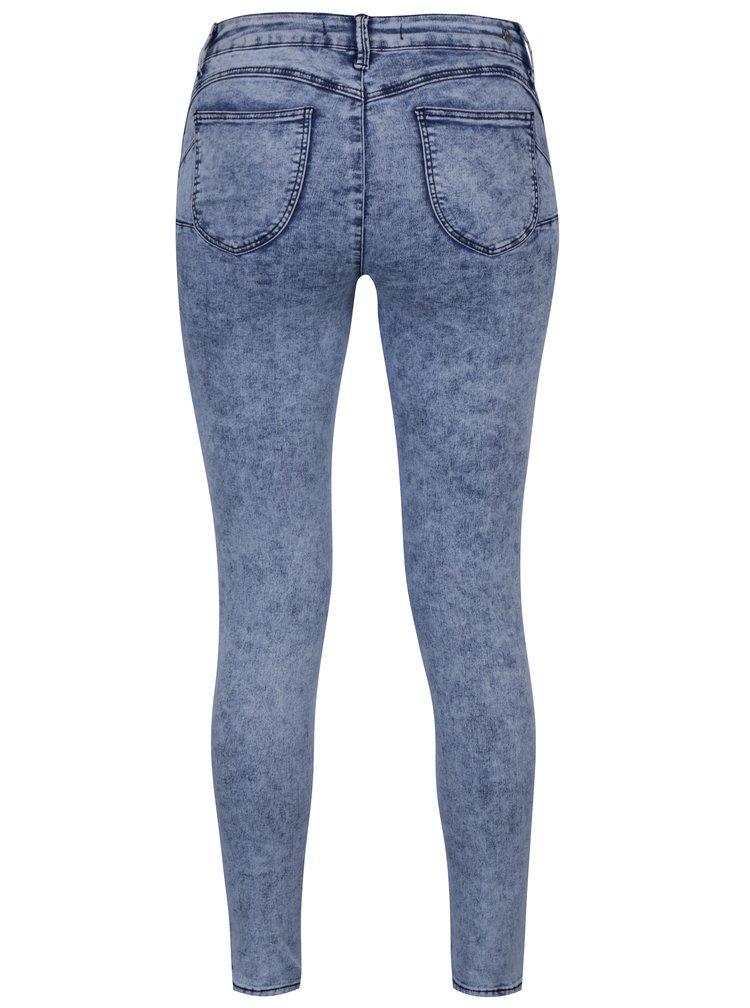 Modré push up skinny džíny TALLY WEiJL