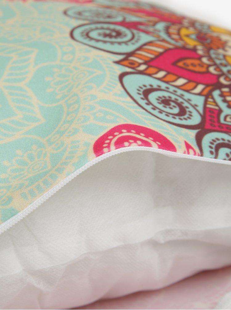 Perna roz cu print mandala - Butter Kings