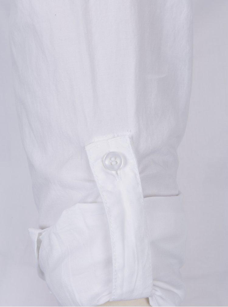 Bílá košile s aplikací ve tvaru perel TALLY WEiJL