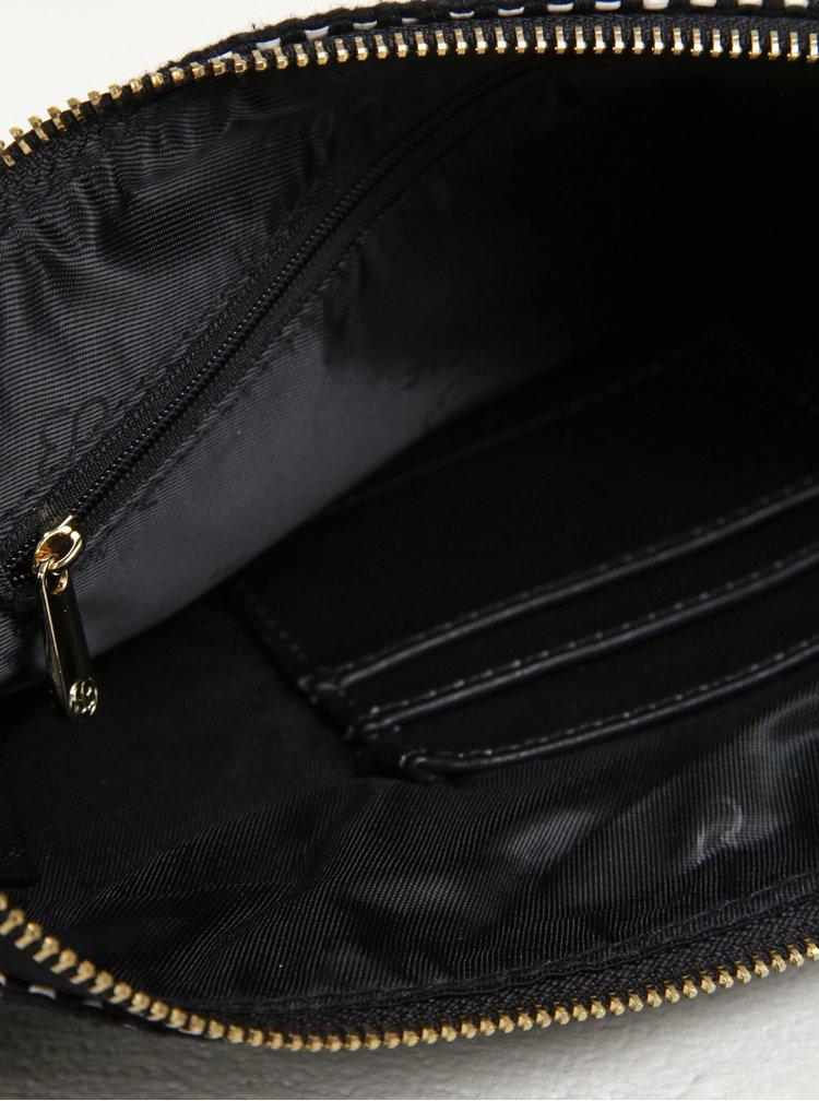 Geanta plic neagra cu ciucure - Bessie London