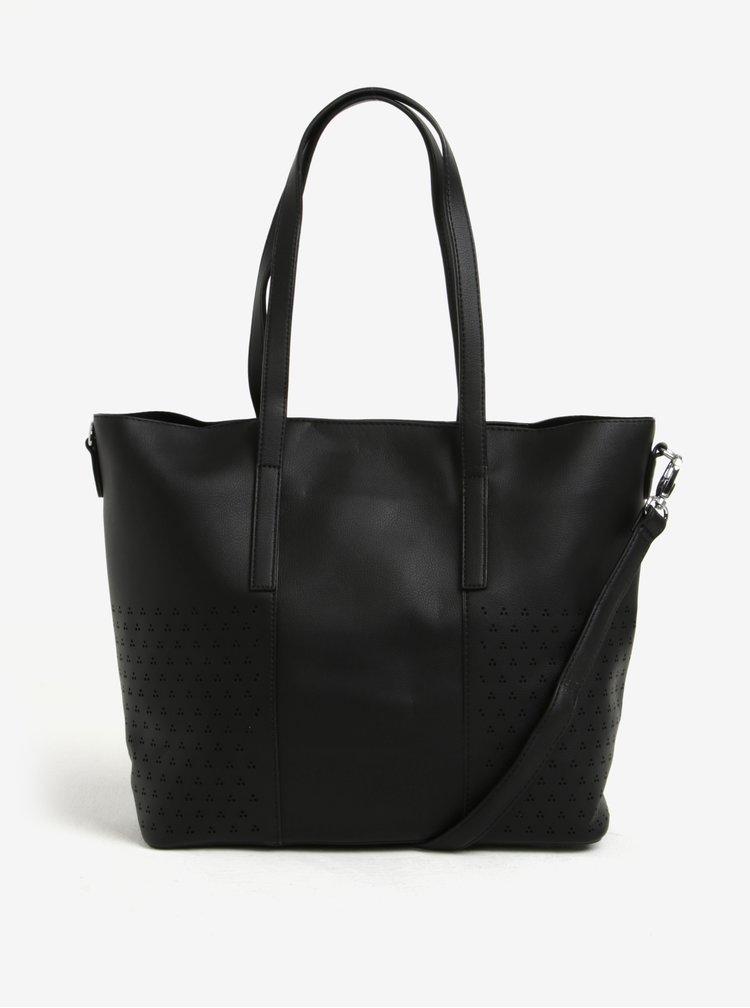 Černá velká a malá kabelka 2v1 Bessie London