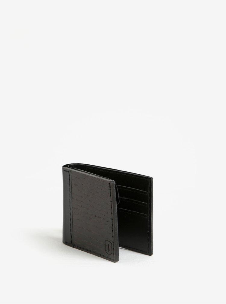 Černá dřevěná peněženka BeWooden Nox Tenebra