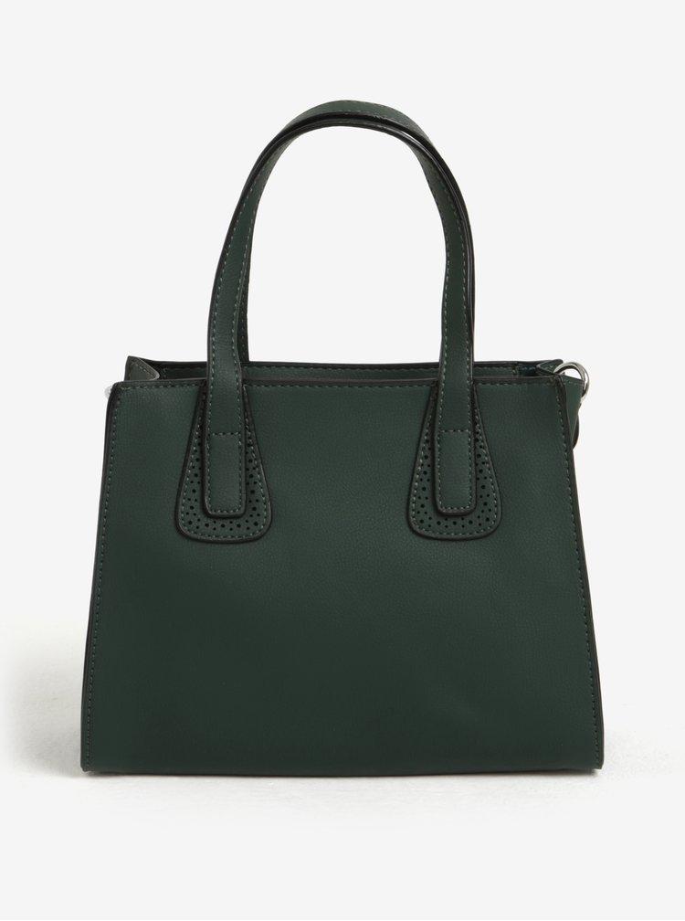 Zelená veľká a malá kabelka s vreckom 2 v 1 Bessie London