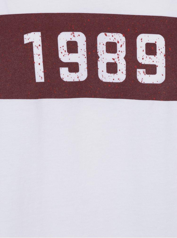 Bílé pánské tričko s potiskem ZOOT Original 1989