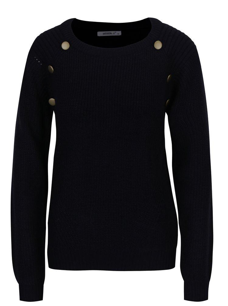 Tmavě modrý svetr Haily´s Cindy