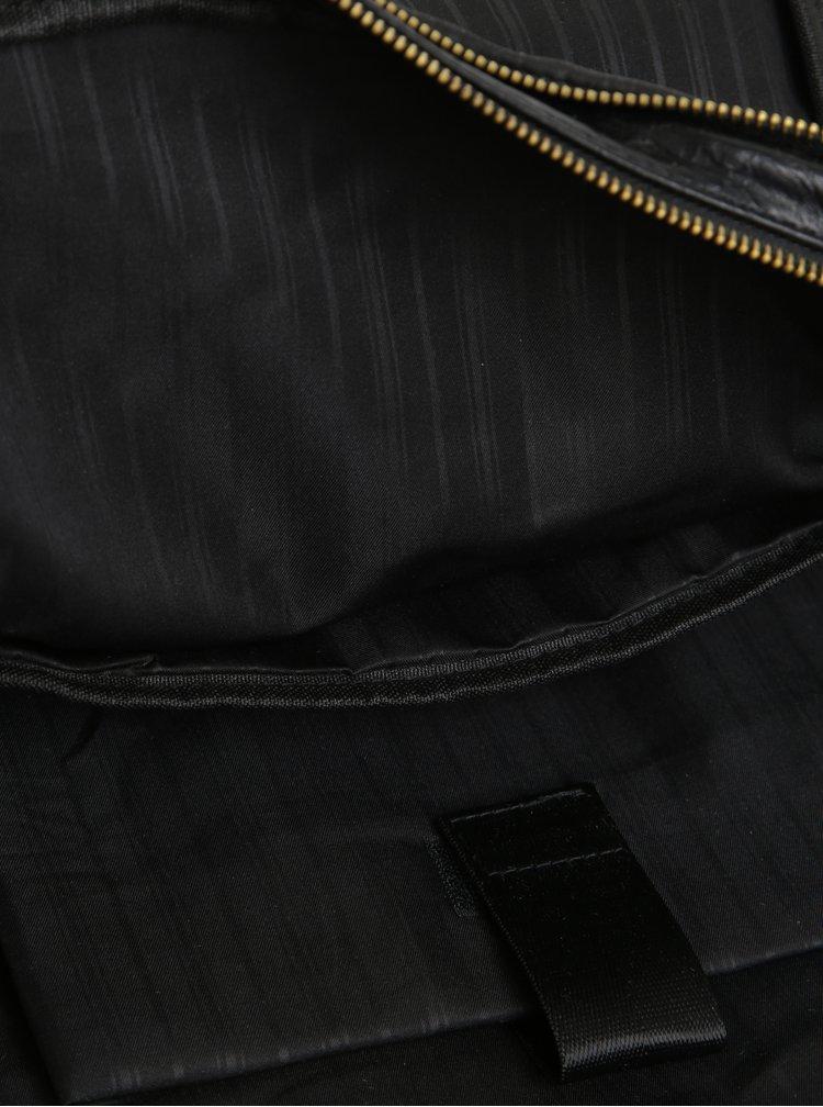 Rucsac urban negru din piele sintetica Bobby Black