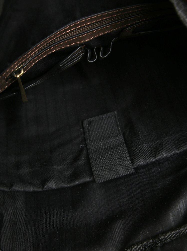 Hnědý pánský velký batoh Bobby Black