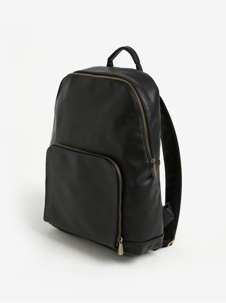 Černý batoh s kapsou Bobby Black