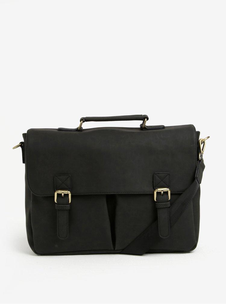 Čierna taška s prackami Bobby Black
