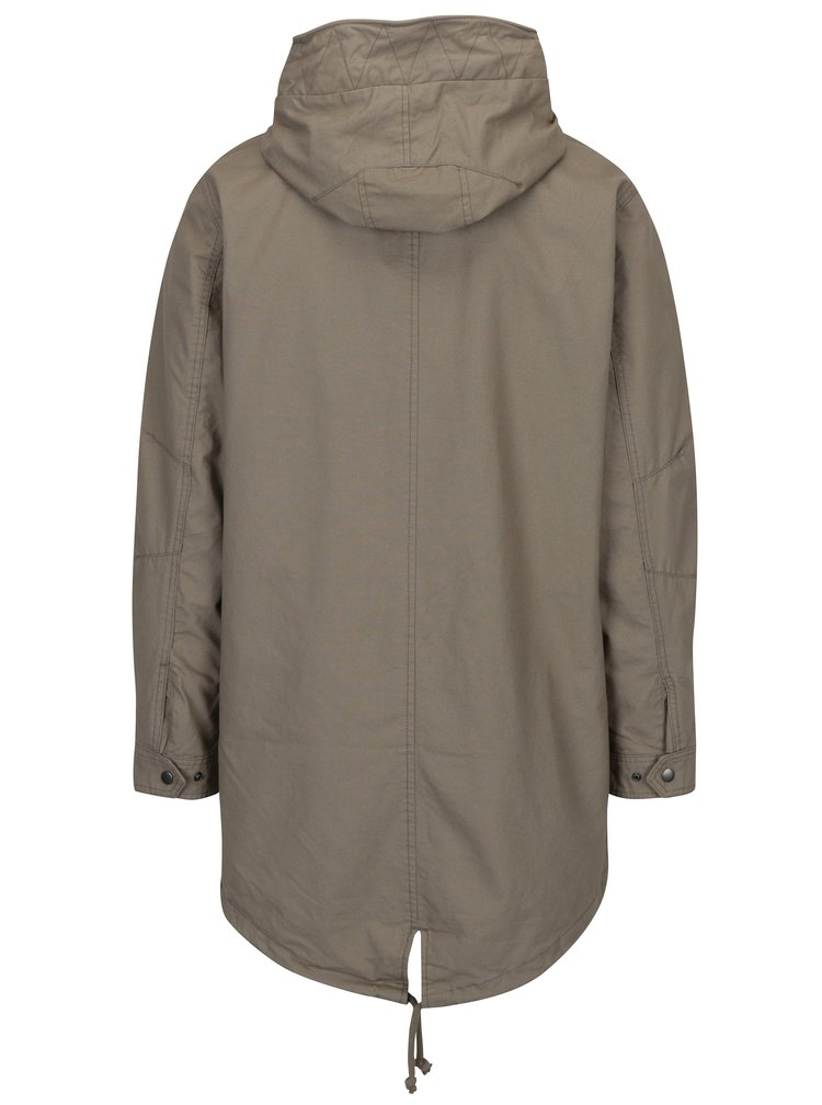 Béžová parka Jack & Jones New Bento