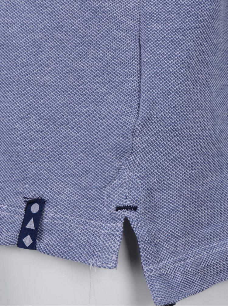 Modré klučičí tričko se stojáčkem 5.10.15.