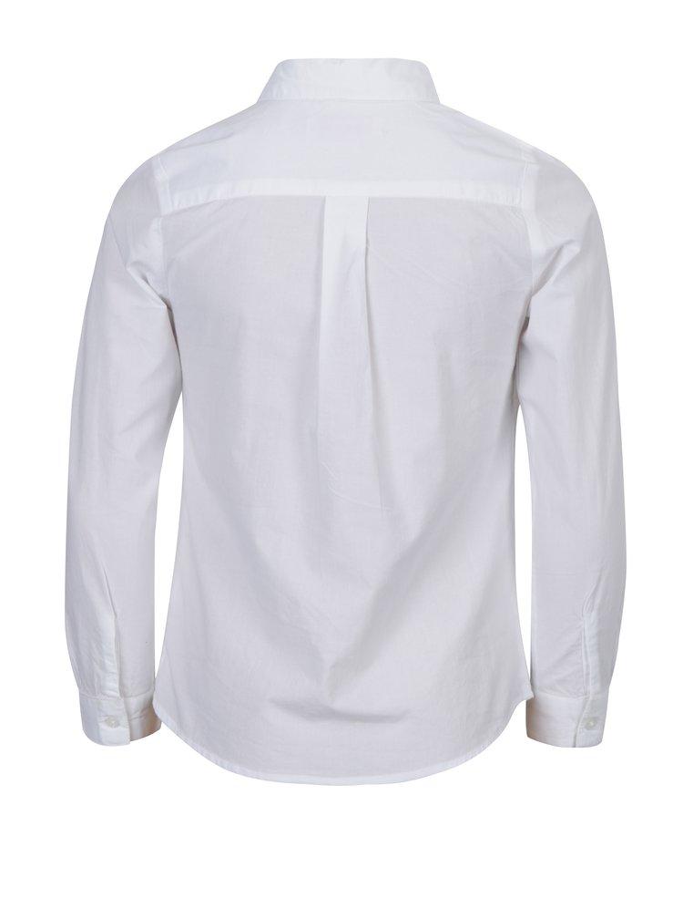 Bílá holčičí košile s fiží 5.10.15.