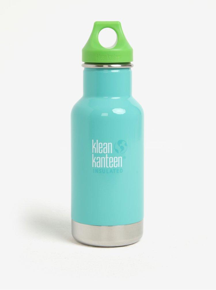 Mentolová nerezová termo lahev Klean Kanteen Kid Classic Insulated 355 ml