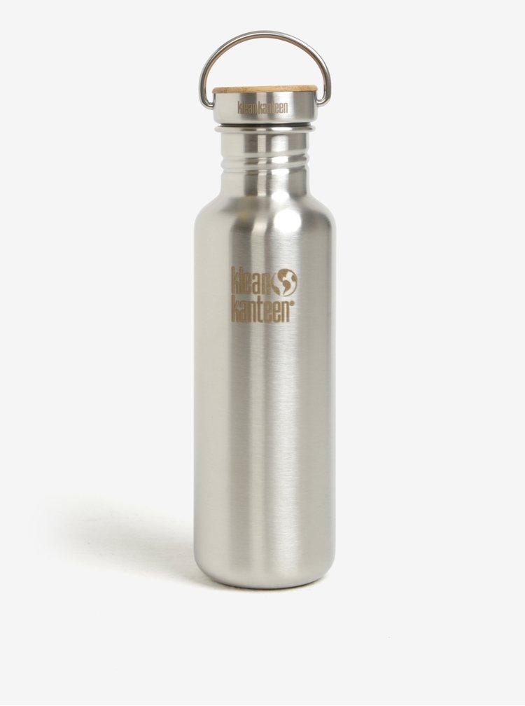 Nerezová lahev ve stříbrné barvě Klean Kanteen Reflect 800 ml