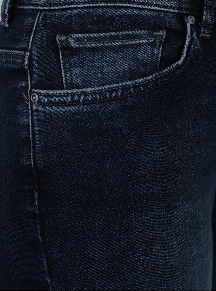 Tmavě modré regular slim fit džíny ONLY Sui