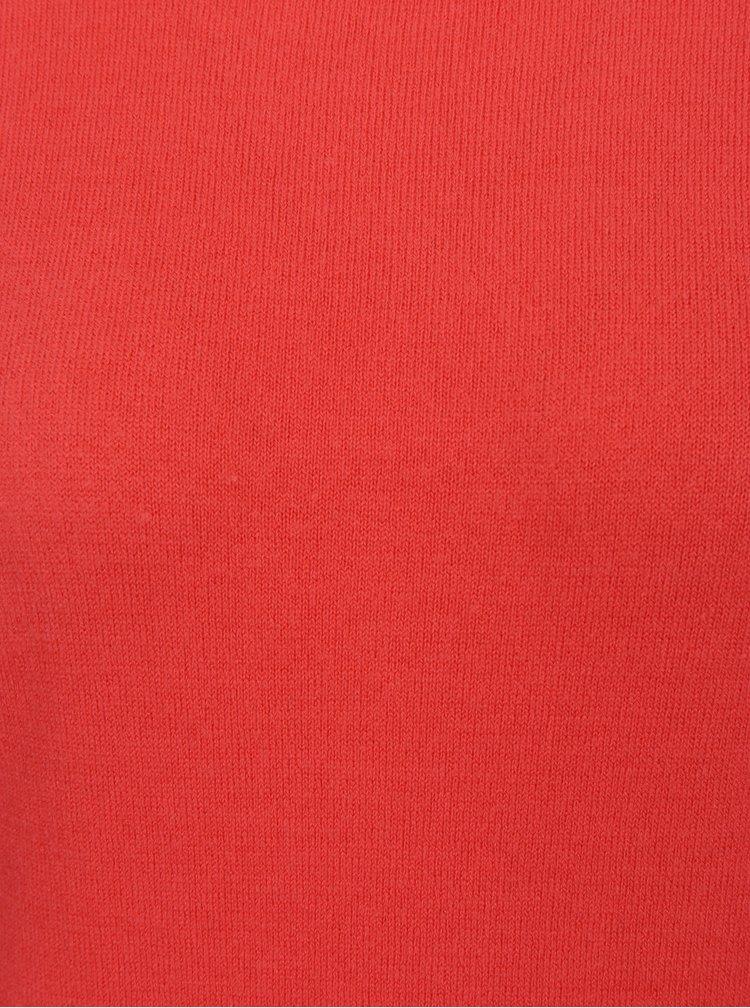 Pulover rosu cu decupaj la spate Dorothy Perkins