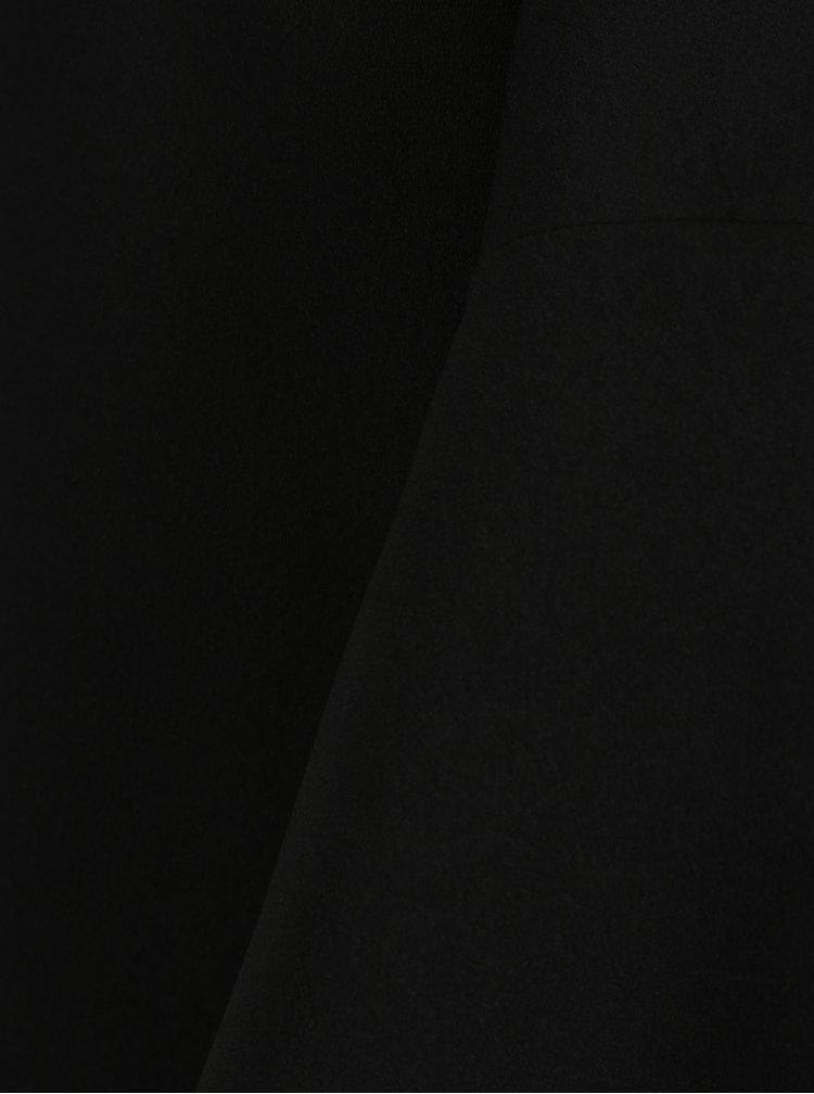 Černá halenka se zvonovými rukávy Dorothy Perkins