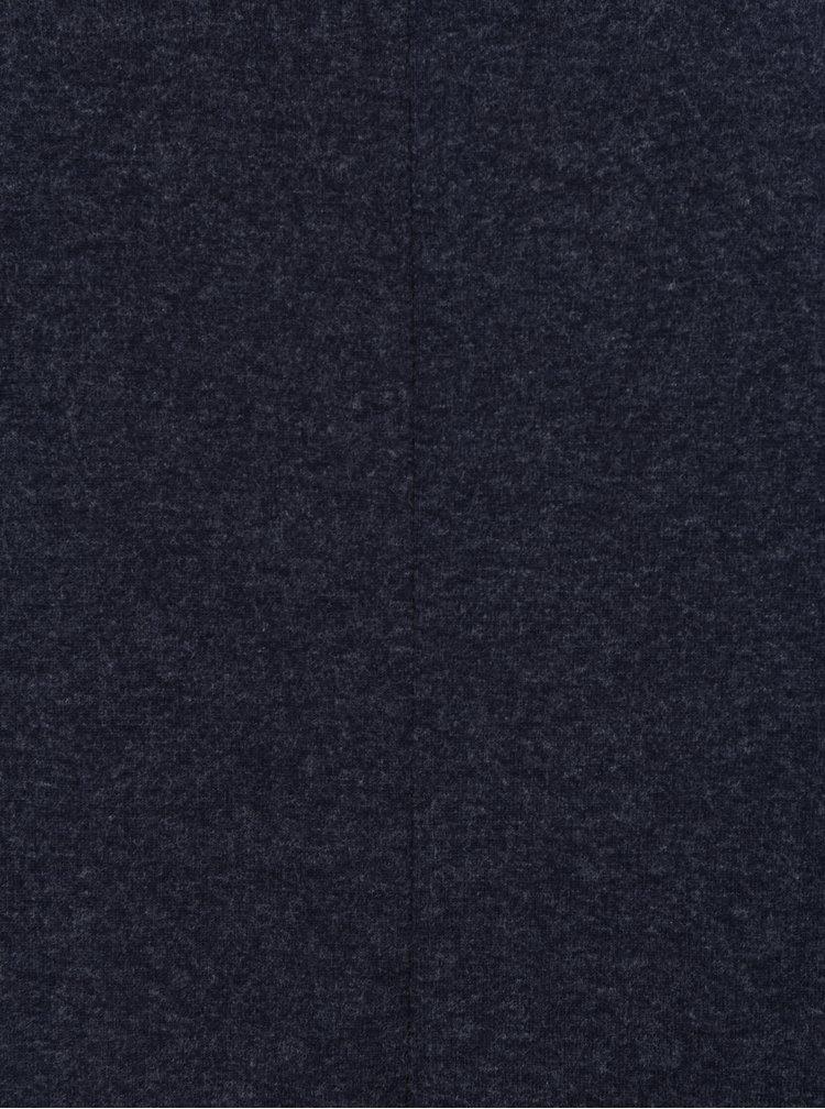 Bluza albastru melanj cu maneci liliac  Dorothy Perkins