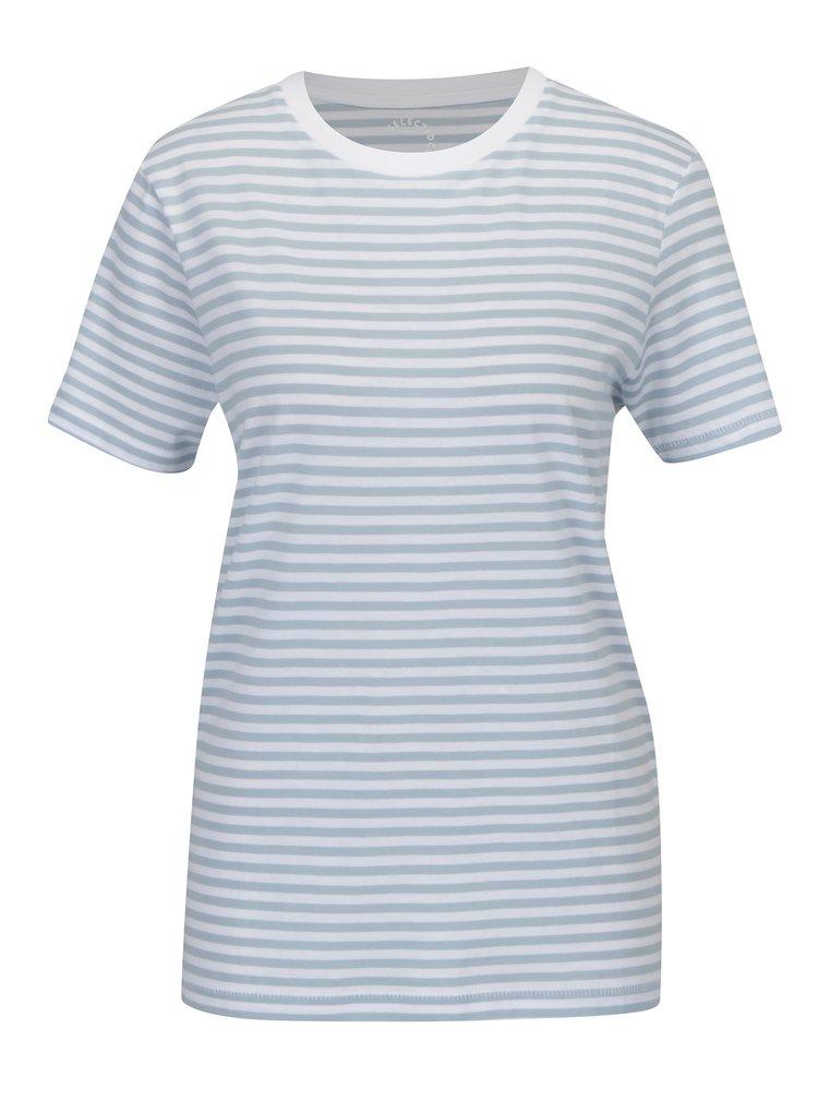 Bílo-modré pruhované tričko Selected Femme MyPerfect