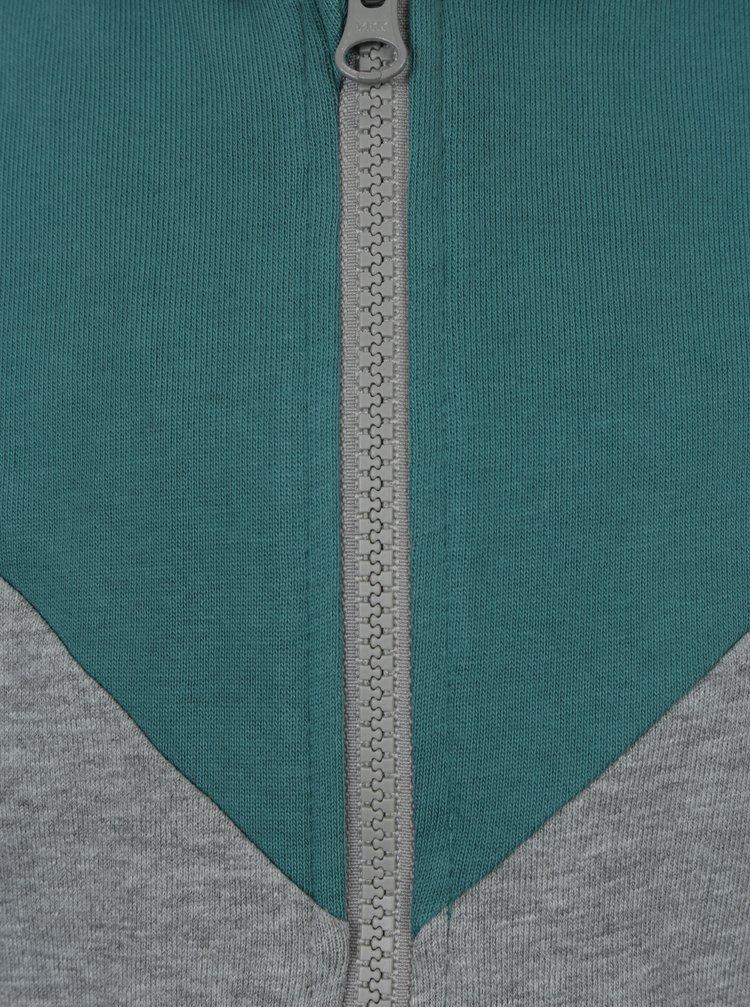 Zeleno-šedá klučičí mikina name it Hbin