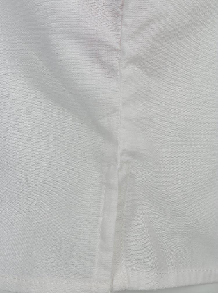 Krémová holčičí košile s výšivkou name it Keeny
