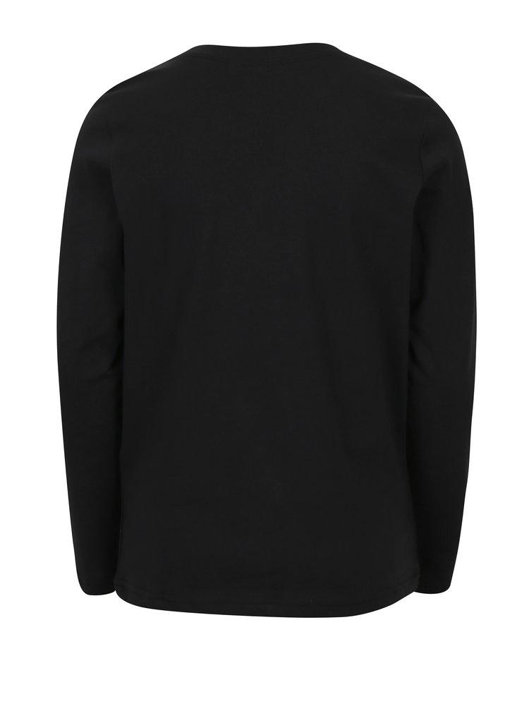 Černé klučičí tričko s potiskem LIMITED by name it Victorsan