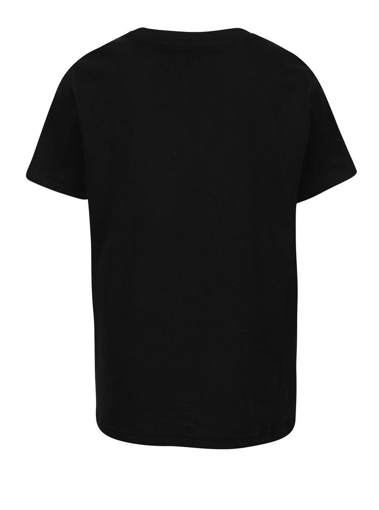Černé klučičí tričko s krátkým rukávem LIMITED by name it Samson