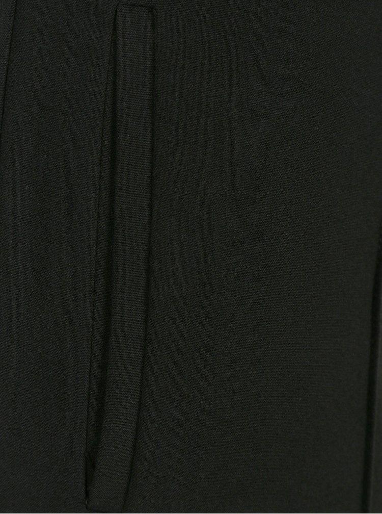 Černé dámské kalhoty s kapsami Selected Femme Maria