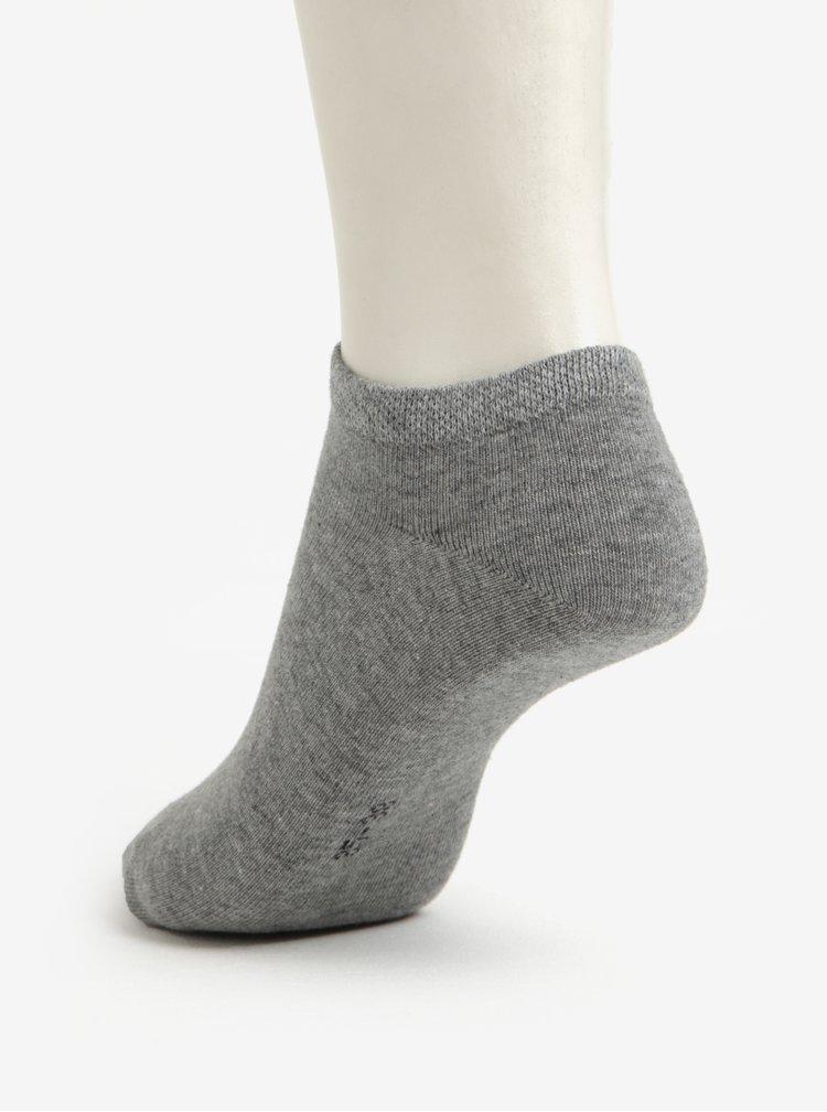 Sada dvou párů unisex ponožek v šedé a tmavě šedé barvě JELL