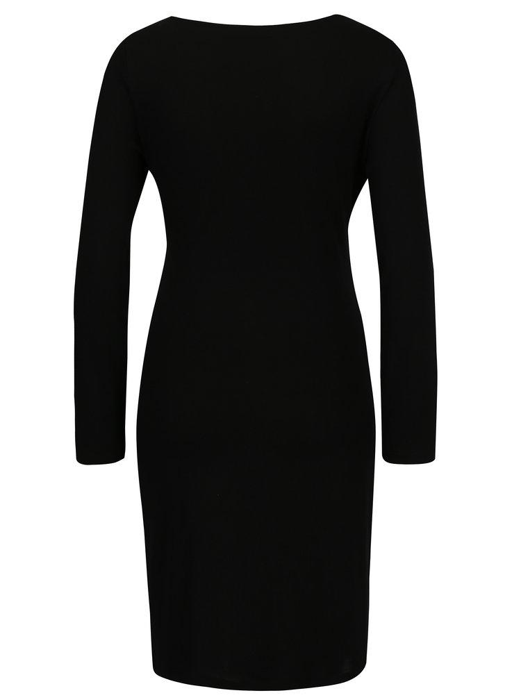 Černé šaty VERO MODA Alba