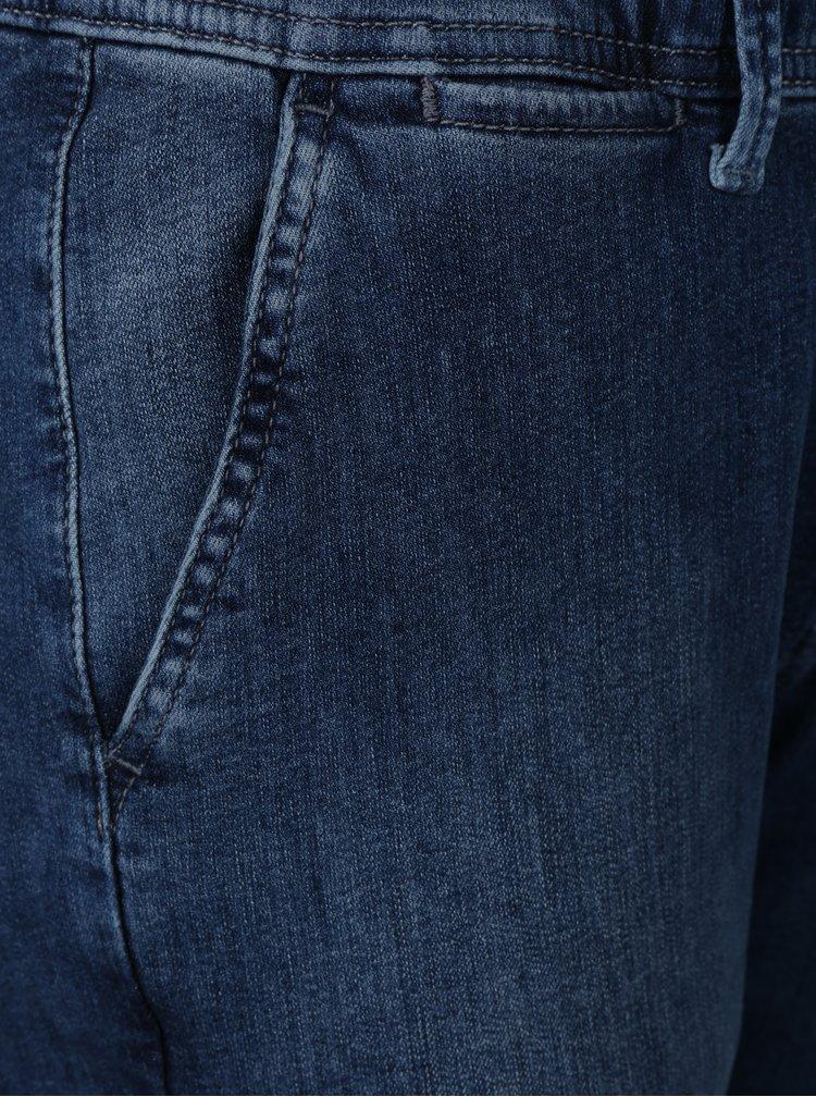 Modré dámské džínové jogger kalhoty Pepe Jeans Cosie