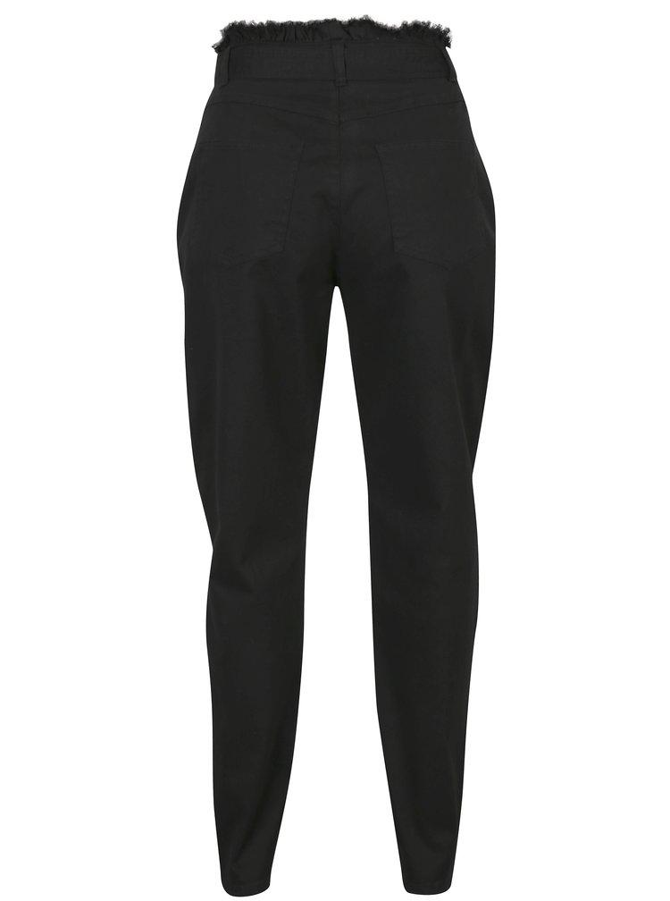 Černé džíny s vysokým pasem Noisy May Be Megan
