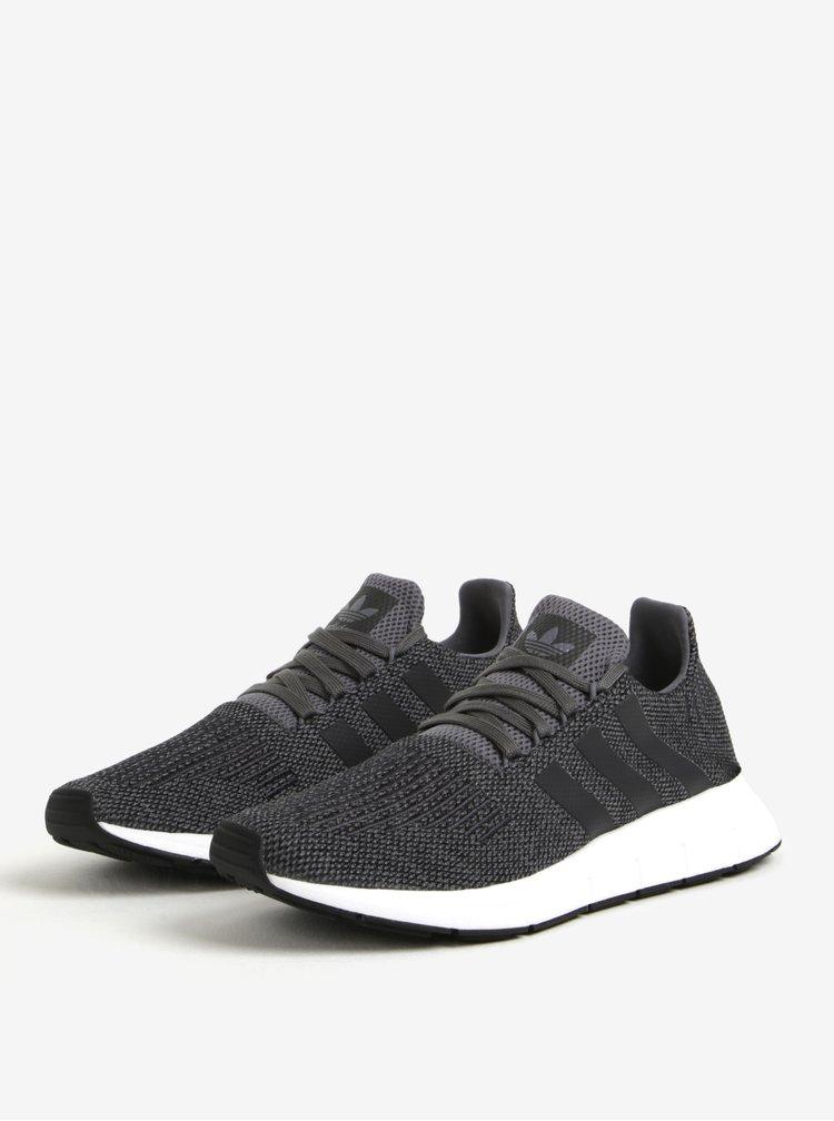 Tmavě šedé pánské tenisky adidas Originals Swift Run