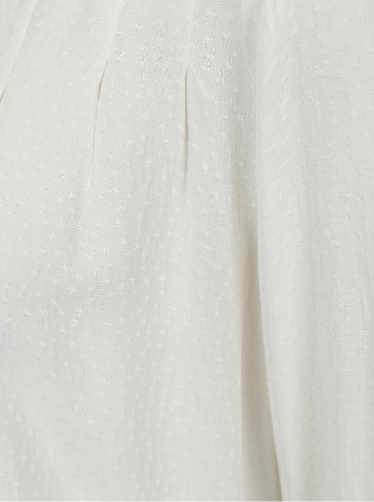 Krémová halenka s jemným vzorem s.Oliver